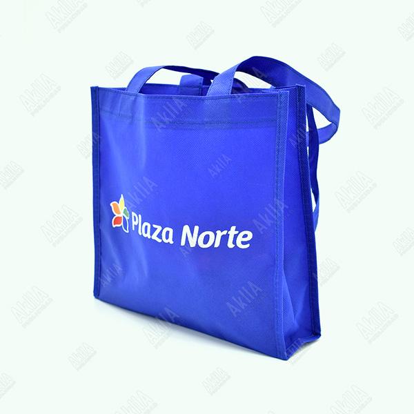 bolsa notex azul con fuelle