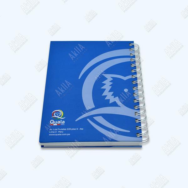 cuadernos anillados publicitarios