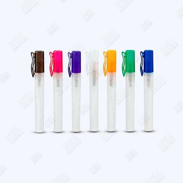 gel antibacterial frasco con spray