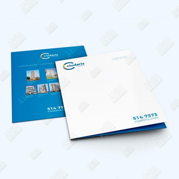 impresion de folder corporativo