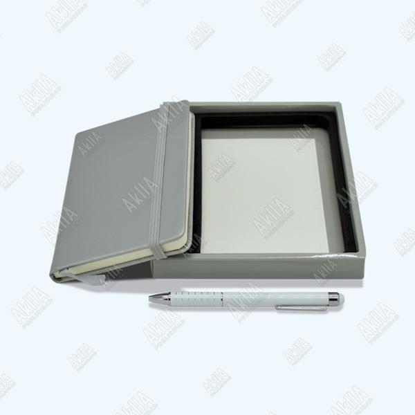 libreta color plata personalizada