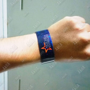 pulseras full color personalizadas