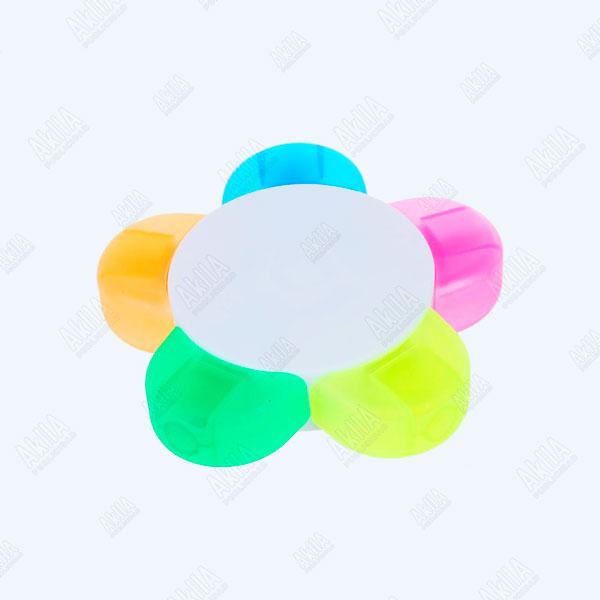 resaltador personalizado forma de flor